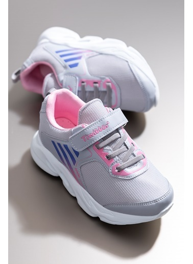 Tonny Black Buz Pembe Çocuk Spor Ayakkabı Tbz05 Mavi